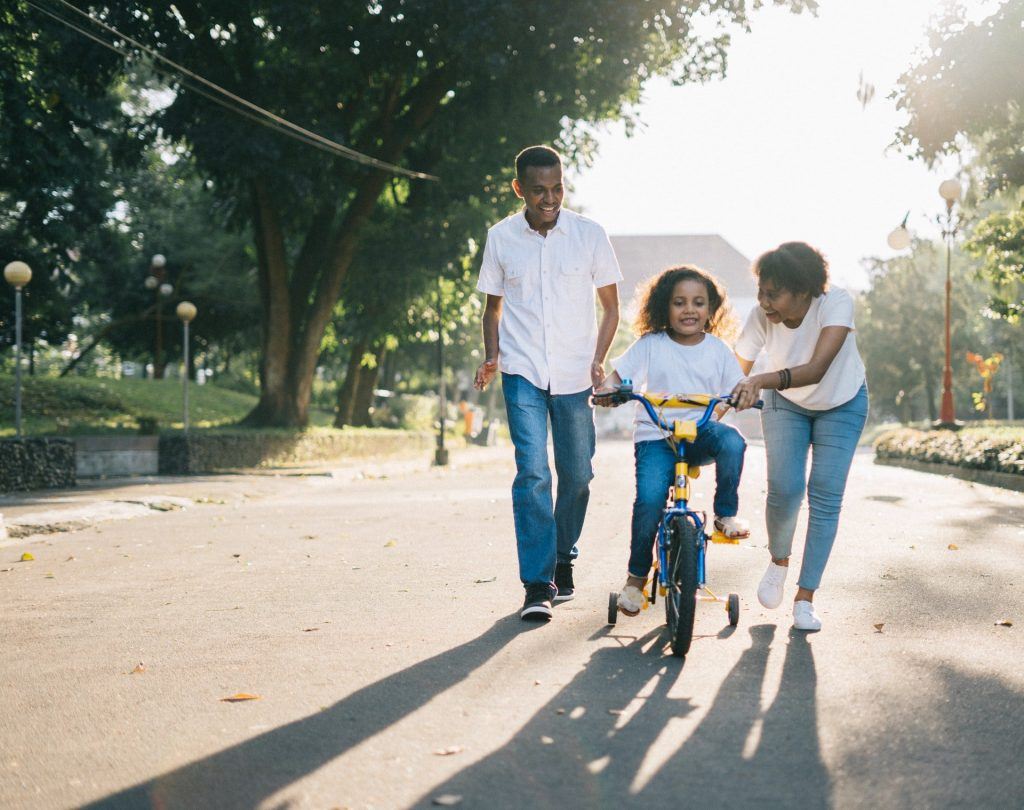 Bike riding under questions to ask family