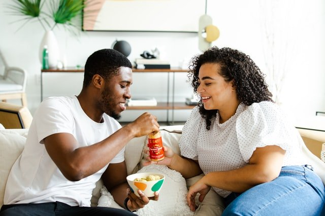 Guy with his Girl in Yes or No Questions to Ask your Girlfriend